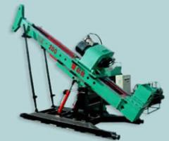 The hydraulic drilling rig for underground works