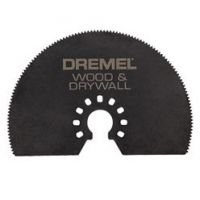Circle Saw For a tree and Dremel® Multi-Max gypsum