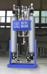Osushka of gas of low pressure
