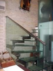 Glass ladder and protection of Crystal Glass