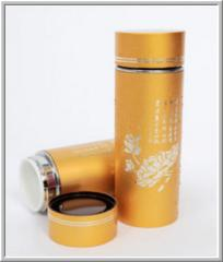 "Nanoactive ceramics Glass ""Life gold"