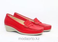 Туфли в спортивном стиле 171 Lady Comfort красн.