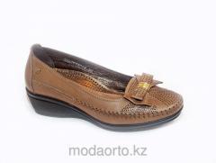 Туфли женские для широкой стопы 18038 Forelli беж
