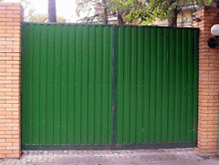 Oar gate from a professional flooring