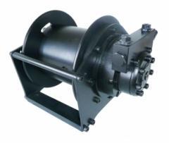Wciągarki ciężkie hydrauliczne i pneumatyczne