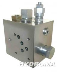 Клапан разгрузочный A-VEP-VSP2-F10-34-20 (STEEL BODY, CETOP 05), max. 30 l/min.