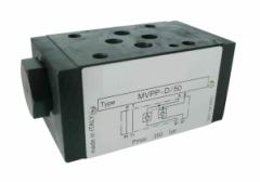 Hydrolock MVPP-D/50-CETOP 03, max. 50 l/min., max.