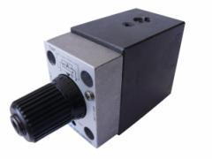 Valve throttle RPC1-16/T3/41, max. 30 l/min., max.