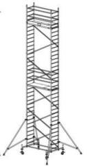 Mobile tower round of ProTec, working height 10,3m