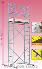 Mobile scaffolding of Corda, height of the
