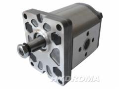 Гидромотор шестерённый ALM2-R-6-C0-E1,  Q=4,...