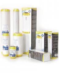 Cartridge for water softening, the equipment for
