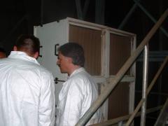 Installation of the food equipmen