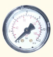 Индикатор засаренности визуальный 31, 0-12bar, BACK SIDE