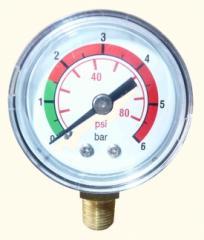 Индикатор засаренности визуальный 32 (R1) FOR RFM , 0-6 BAR, RADIAL FITTING