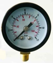 Contamination indicator visual 33 (R1), 0-12bar,