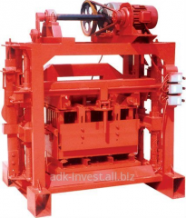 The Machine model 4-40B for production of slag