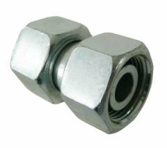 Фитиинг соединительный с гайками SNV-15L (22x1,5)