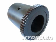 Элемент муфты -полумуфта электродвигателя