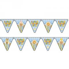 Garland pennant Happy birthday Kid boy of 210 cm