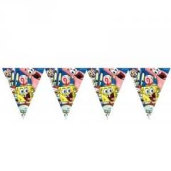 Garland pennant Sponge Bob of 360 cm And