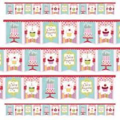 Garland pennant Happy birthday Sweet Holiday 200