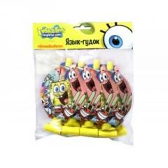 Language beep from cards Sponge Bob of 8 pieces