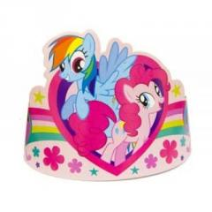 Tiara of My Little Pony boom of 8 pieces And