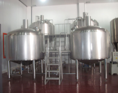 Breweries for restaurants, the equipment for production of beer