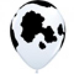 Shelkografiya11 Spots Cow of White Q