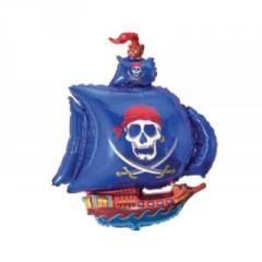 Sphere folgirovanny F Figure 11 Ship piracy blue