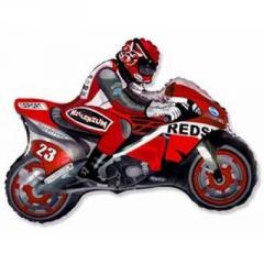 Sphere folgirovanny F Figure 11 Motorcyclist red
