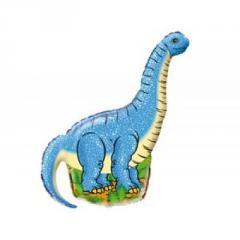 Sphere folgirovanny F M Figura 3 Dinosaur of blue