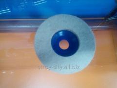 Polishing felt disk
