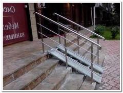 Handrail is external