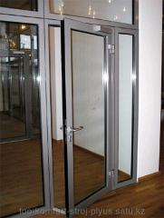Двери из алюминиевого профиля холодной серии