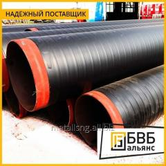 Isolation of steel pipes
