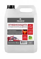Антипирен II группа огнезащиты с антисептическими свойствами Medera 80 A, Артикул 587