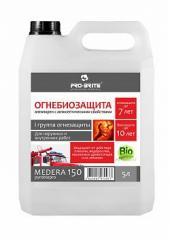 Антипирен, I группа огнезащиты с антисептическими свойствами Medera 150 Pyrobiopro, Артикул 700