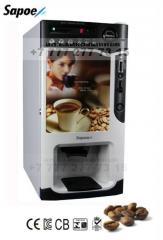 The vending coffee machine on 4 look