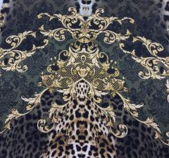 Fabric % silk-98% elastane-2 D&G (Art