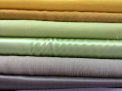 Fabric silk streych silk of 98% elastane of 2%
