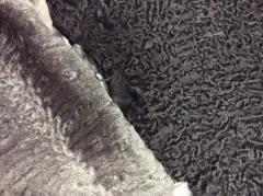 Fur astrakhan fur silky