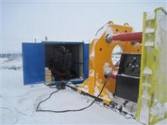 Установка для продавливания труб УБПТ-800 (тяжелый