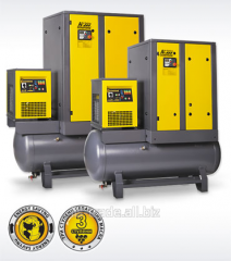 Compressor with a productivity up to 2,3 m3/min.