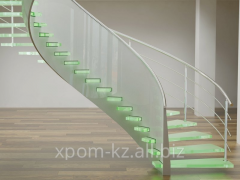 Spiral staircases integral