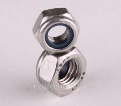 Гайка шестигранная контрогающая М4-М48 DIN 7967