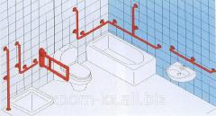 Поручни для установки в ванную комнату
