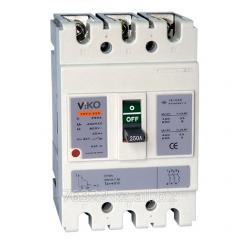 Выключатели автоматические VMF3 160А 3Р 35кA