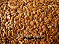 Семена льна, в мешках, в биг бегах, экспорт,